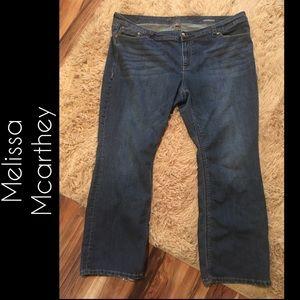 Melissa McCarthy Jeans - Plus size jeans
